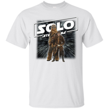 цены SOLO MOVIE : A STAR WARS STORY : 7b Cotton T-Shirt Youth Round Collar Customized T-Shirts free shipping