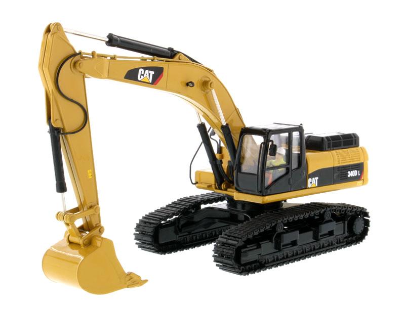 DM 85908 1 50 CAT 340D L Hydraulic Excavator toy