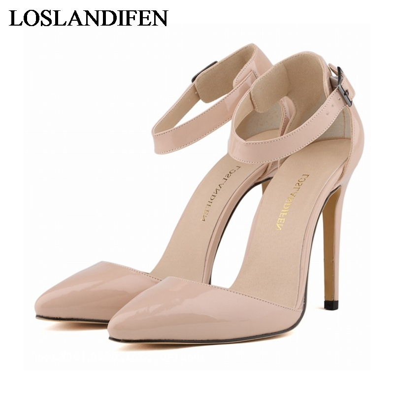 New Arrival 2018 Fashion Star Style Sexy Thin Heel Summer Shoes European High Heels Sandals For Women Sandal NLK-B0012 new women sandals low heel wedges summer casual single shoes woman sandal fashion soft sandals free shipping