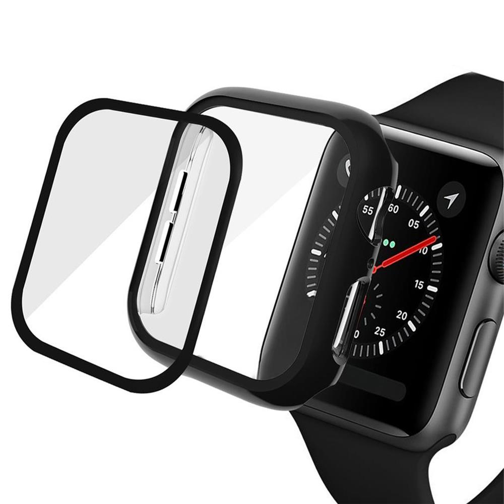 screen protector case For <font><b>apple</b></font> <font><b>watch</b></font> band <font><b>apple</b></font> <font><b>watch</b></font> 5 4 <font><b>3</b></font> iwatch band 44mm 40mm <font><b>42mm</b></font> 38mm PC Protect Cover <font><b>Watch</b></font> Accessories image