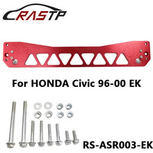 Aluminum Rear Subframe Reinforcement brace CAD designed and machined  Fit For Honda Civic 96-00 EK With Logo RS3-ASR003-EK fit for 99 00 honda civic ek jdm driving fog lights clear lens usa domestic free shipping hot selling