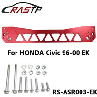 Aluminum Rear Subframe Reinforcement brace CAD designed and machined Fit For Honda Civic 96 00 EK With Logo RS3 ASR003 EK
