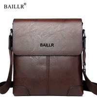 BAILLR Brand Sacoche Homme Man S Small Messenger Bags Man Satchels Travel Shoulder Bag 2017 Famous
