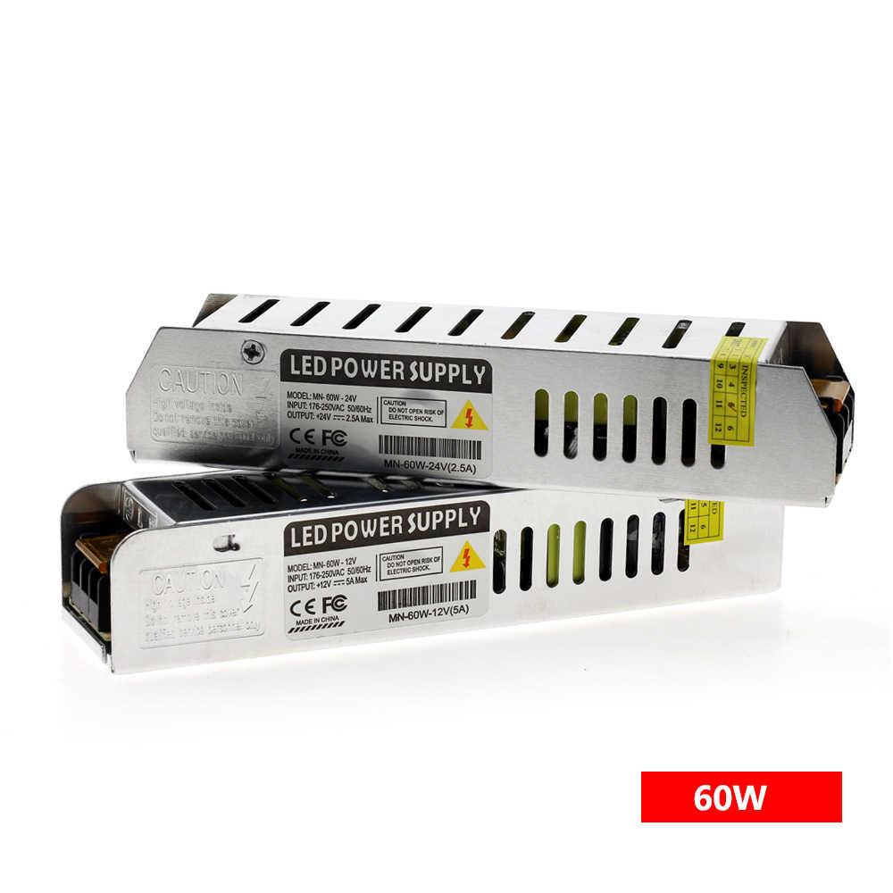 Светодиодный драйвер Питание AC220 для DC12V/DC24V 60 Вт 120 Вт 200 Вт 250 Вт 360 Вт светодиодный адаптер трансформаторы