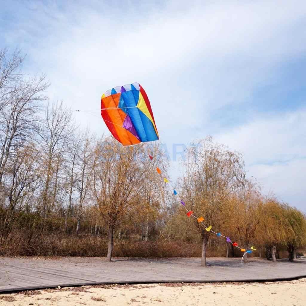 Parafoil pocket kite kids game play entertainment