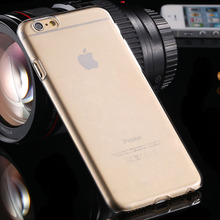 Super Slim Crystal Clear Hard Plastic PC Case Covers For iPhone 6 6S 4 7 Cellphone