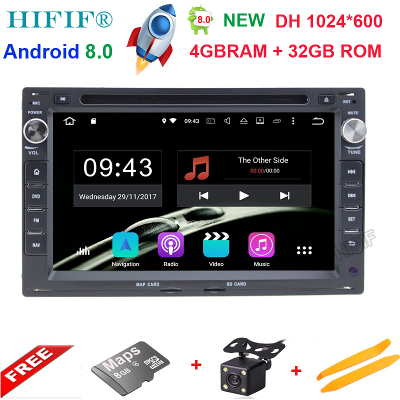 Octa Core Android 8 0 Car DVD GPS Radio For Old VW Transporter T4 T5 Bora