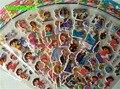 HAPPYXUAN 8 folhas/lote Dos Desenhos Animados Inchado Adesivos Dora Morango Princesa Brinquedos para Crianças Menina 21*7.5 cm