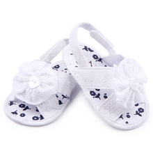 Sweet Baby Girl Summer Shoes First Walker Infant Toddler Girls Kids Shoes Big Flower Newborn Baby Crib Bebe Shoes Footwear