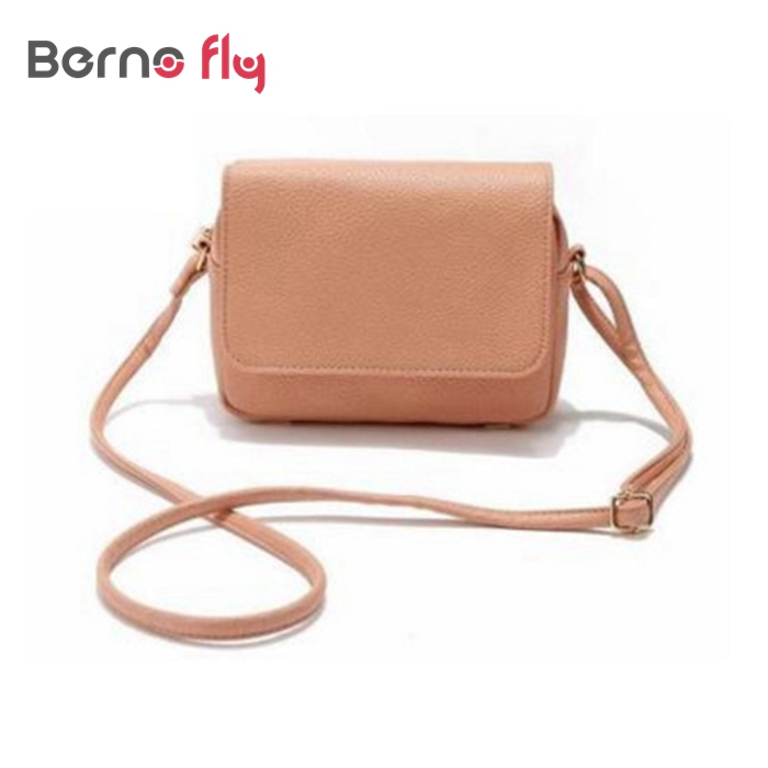 New Vinttage Women Messenger Bag Pu Leather Handbag Las Shoulder Bags Small Mini Crossbody Casual Travel Satchel Purses In Top Handle From