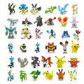 Retail 144Pcs 2-3 CM Small  Doll Classic Anime Pikachu Action Figures Toys For Children Gift  Action & Toy Figures Free Shipping