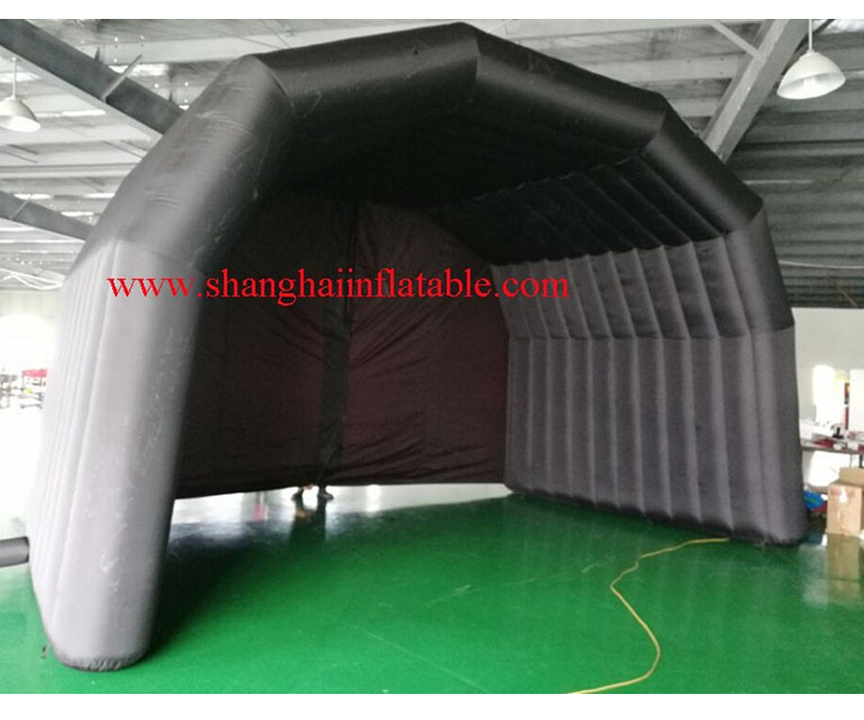 Aggressive Black Oxford Inflatable Tent For Sale With Blower,ourdoot Inflatable Tent Easy To Lubricate