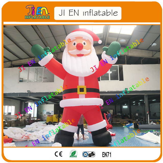 2017 new design large outdoor christmas decorations santa clausgiant