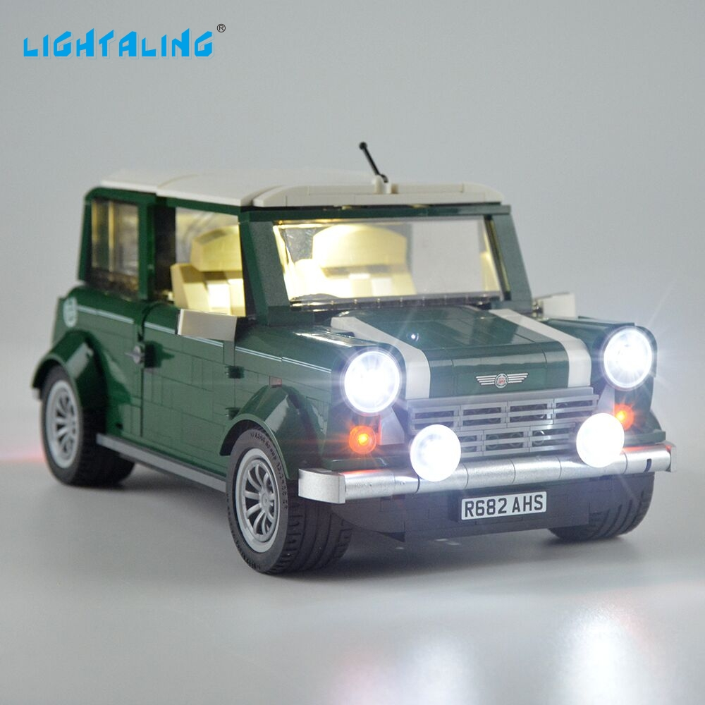 Lightaling Led Light Set For Creator Mini Cooper Building Block Light Kit Compatible With 10242 And 21002
