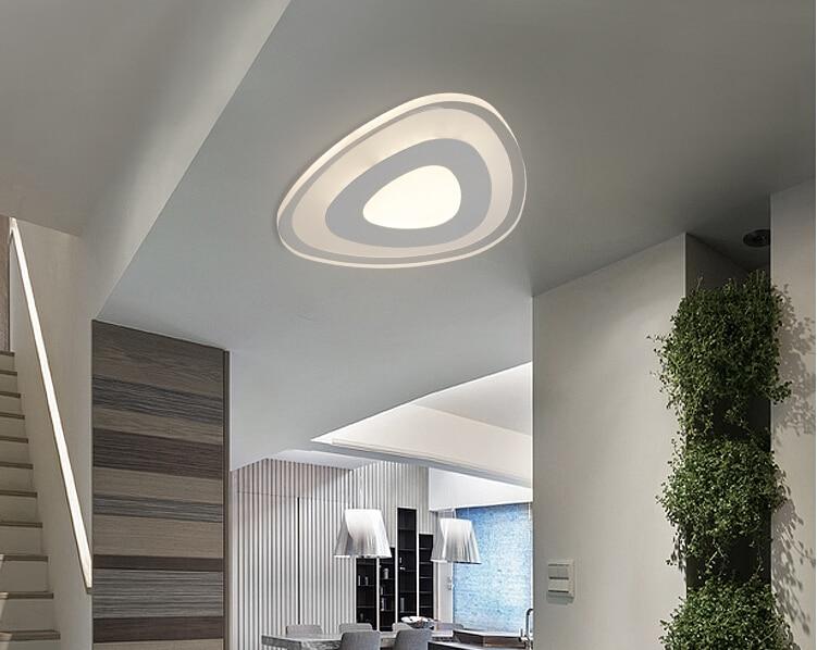 New ultra thin modern led ceiling lights creative acrylic lamp home