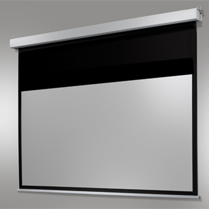 Theater Room With Hidden Projector: E416B9 Home Cinema Electric Screen Motorized Electric Auto