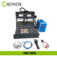 DIY 3050 PVC Frame CNC Engraving Machine Embossed Round Sculpture Pcb PVC Milling Machine,Wood Router