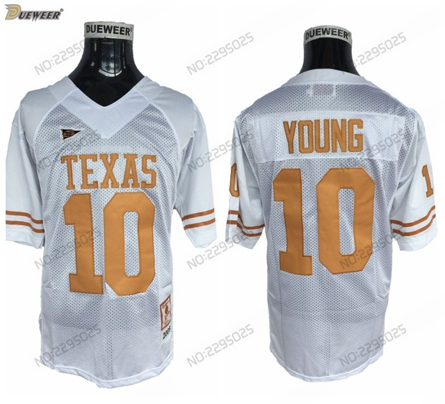 newest 73cbe 3b85d australia texas longhorns 10 young orange jersey 209aa 545a1