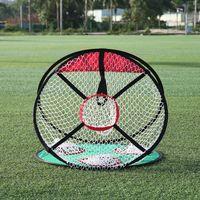 Nuevo de ee.uu. envío Golf multi-uso práctica galería 23 pulgadas plegable chipping Net