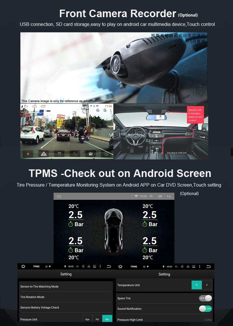 android9.0 VOLKSWAGEN SKODA SEAT PASSAT OCTAVIA LEON GOLF POLO TIGUAN CAR DVD 2DIN GPS NAVIGATION NAVITEL (7)