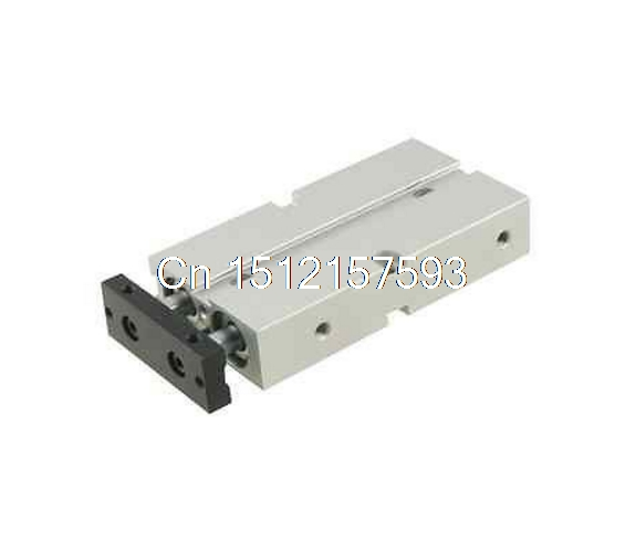 Dual Acting 16mm Bore 50mm Stroke Double Rod Pneumatic Air Cylinder general model cxsm32 50 compact type dual rod cylinder double acting 32 40mm