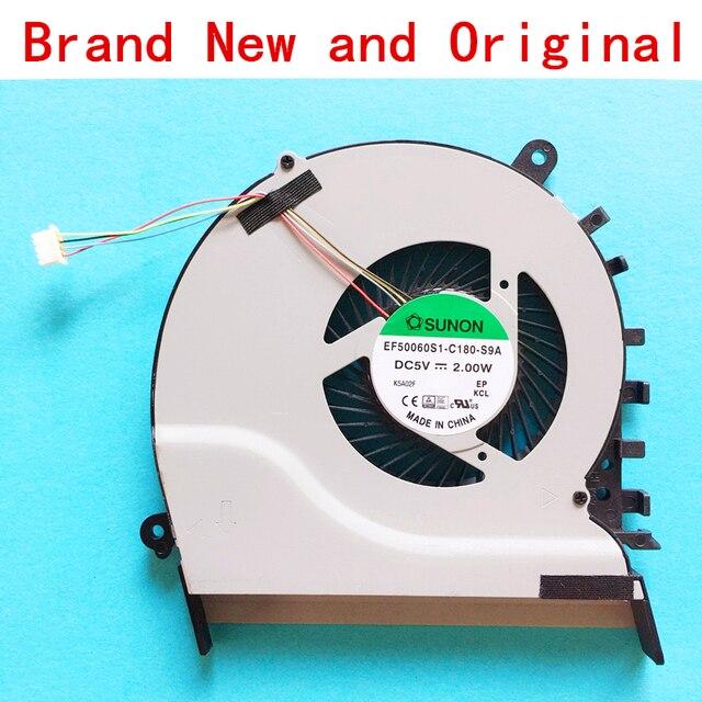 New CPU laptop cooling fan Notebook Cooler radiador para Asus Vivobook S551LB S551LA S551LN S551 S551L V551 V551L V551LB cpu fã