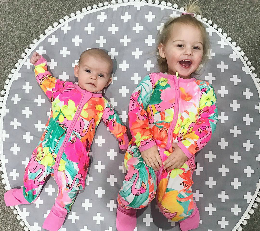 Rare Flamingo Wondersuit Printed Long Sleeve Baby Boy Girl Clothes Jungle Book Jumpsuit Tiny Cottons Baby Rompers Newborn цена