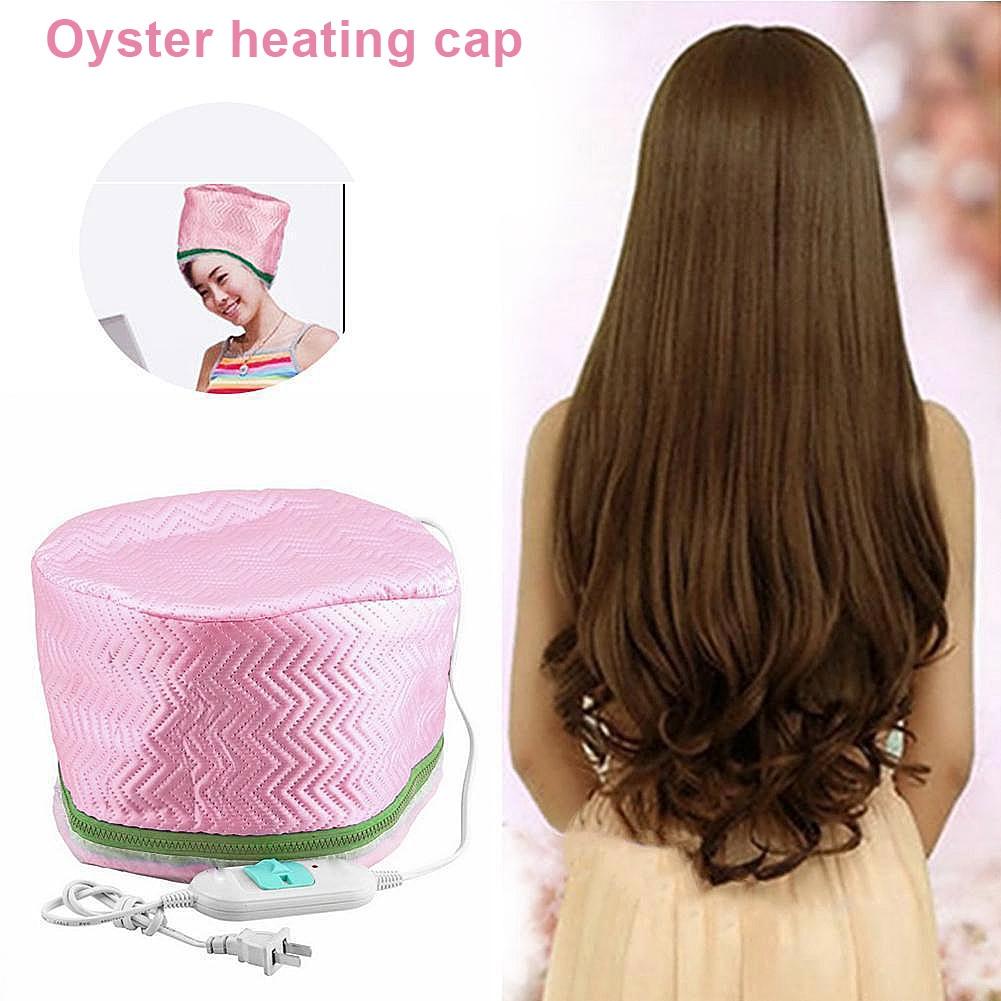 Electric Hair Mask Baking Oil Cap Thermal Treatment Temperature Control Protecti