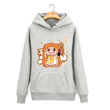 Anime Himouto Umaru-chan Spring and Autumn casual long-sleeved hooded cartoon Hoodies cute men and women
