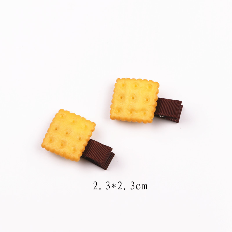 New Arrival styling tools Multi-style cartoon biscuit hairpin headwear hair accessories for women girl children make you fashion