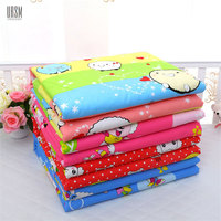 80 120cm Baby Changing Pads Covers Water Proof Baby Diapers 3 Layer Inserts Nappy Cotton Washable