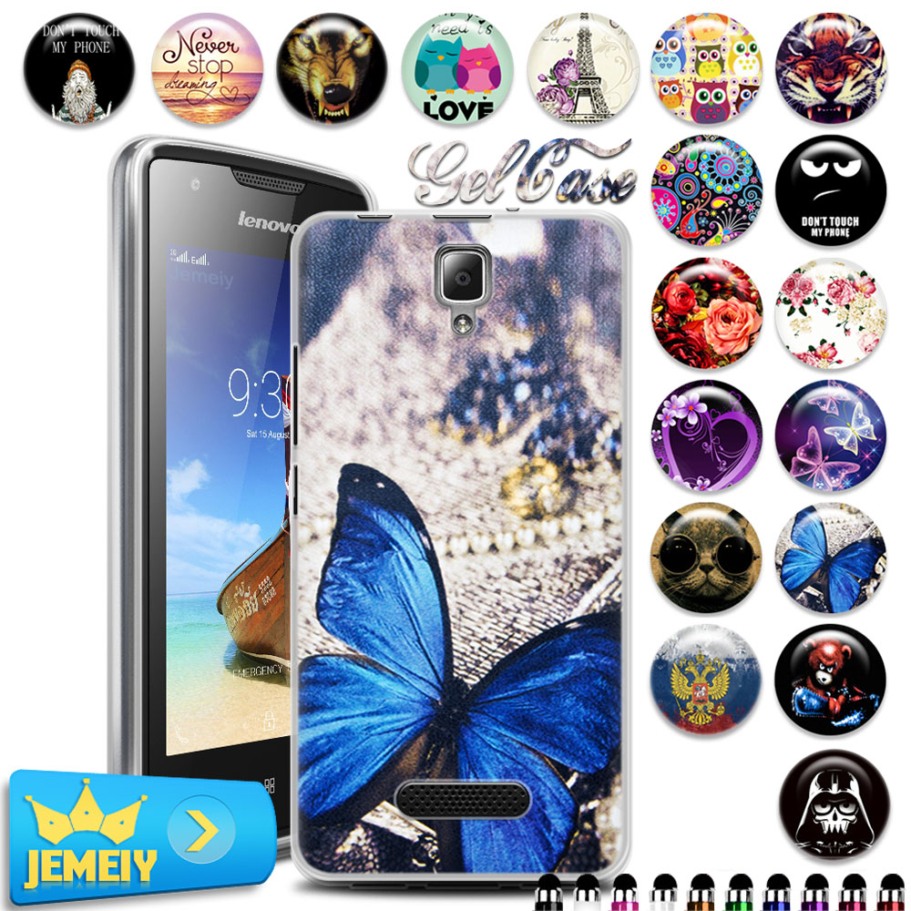 Mobile Phone Bags & Cases: Colorfull soft Gel case cover for Lenovo A1000 A5000 A2010 S60 S90 P1 P70 K3 k4 note/Vibe S1 P1M X3 lite moblie phone Tempered