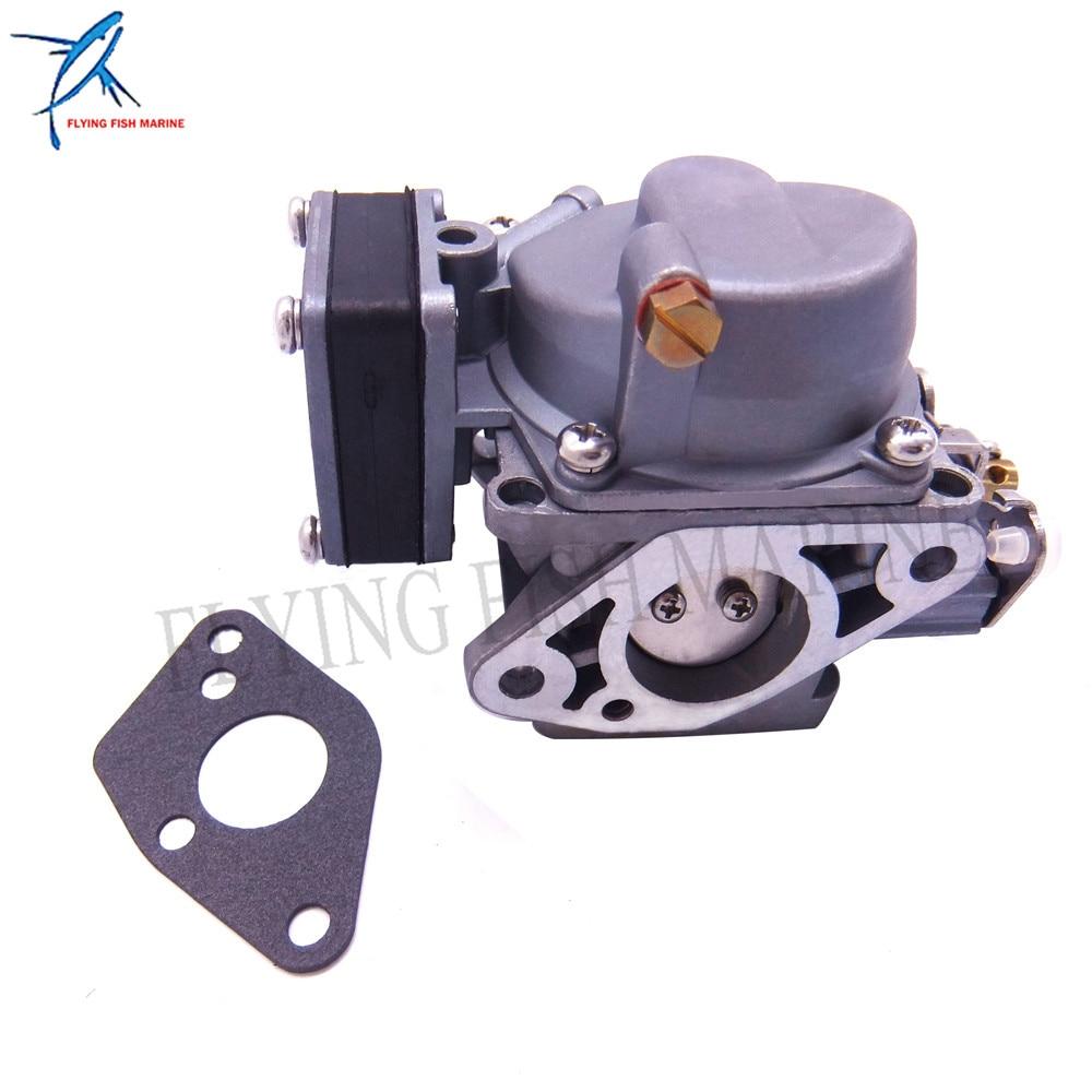 Motore fuoribordo 369-03200-0 369032000 m 369032001 m 369032002 m Carburatore Assy 369-02011-0 guarnizione per Tohatsu Nissan 5HP