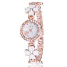 2018 JW элегантные женские часы-браслет Для женщин Новое поступление золото Сталь ремень Простой Дизайн Повседневное наручные кварцевые часы женские время