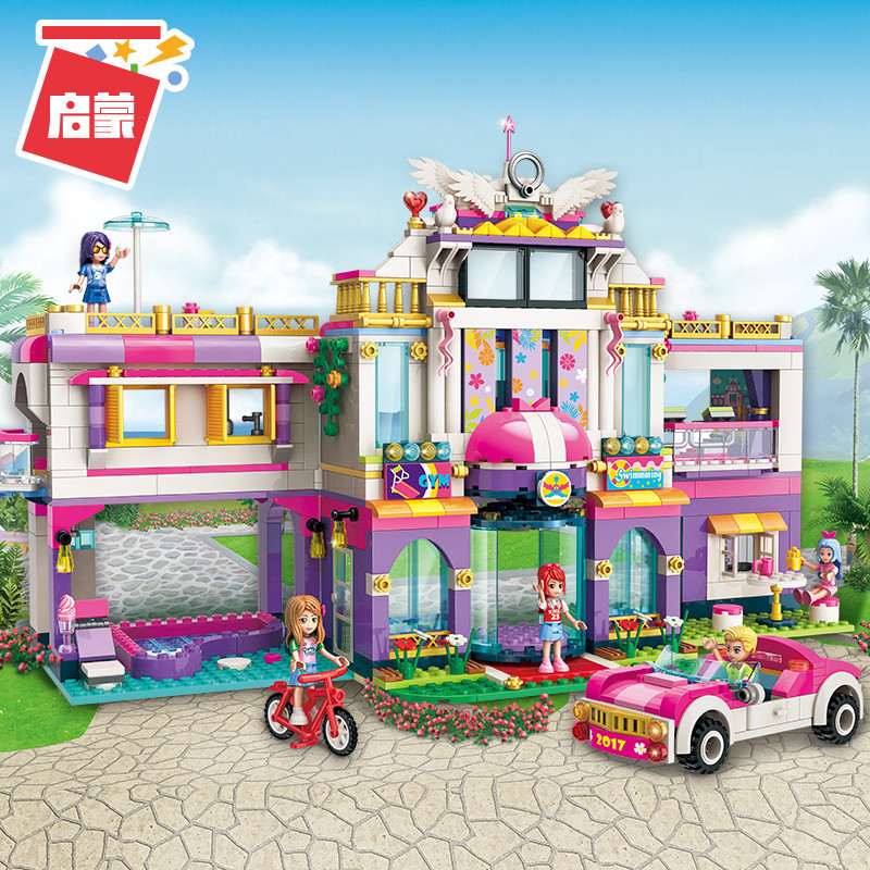 ENLIGHTEN-City-Girls-Princess-Dream-House-Villa-Building-Blocks-Sets-Bricks-Model-Kids-Classic-Compatible-Legoings (3)