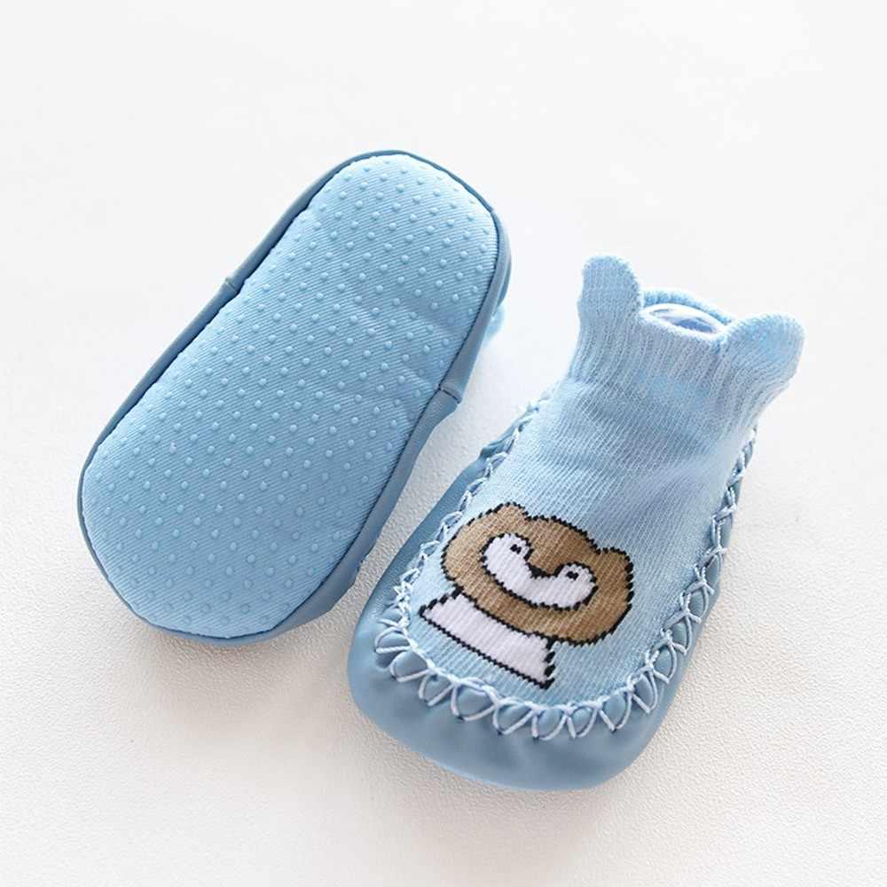 Baby Shoes Fashion Cartoon Animal Baby Girls Boys Anti-Slip Socks Slipper Soft Comfortable Casual Shoes Boots bebek ayakkabi