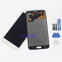 For Samsung Galaxy S5 G900 G900F G900H LCD Display Touch Screen Panel Glass Digitizer Assembly Replacement