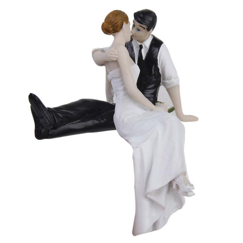 bride and groom figurines for wedding cakes and groom resin figurine wedding cake topper 12121