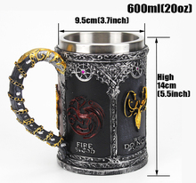Mugs Game of Thrones Wine Glass Coffee Tea Cup