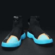 High Top Mesh Lightweight Loafers Men Sneakers