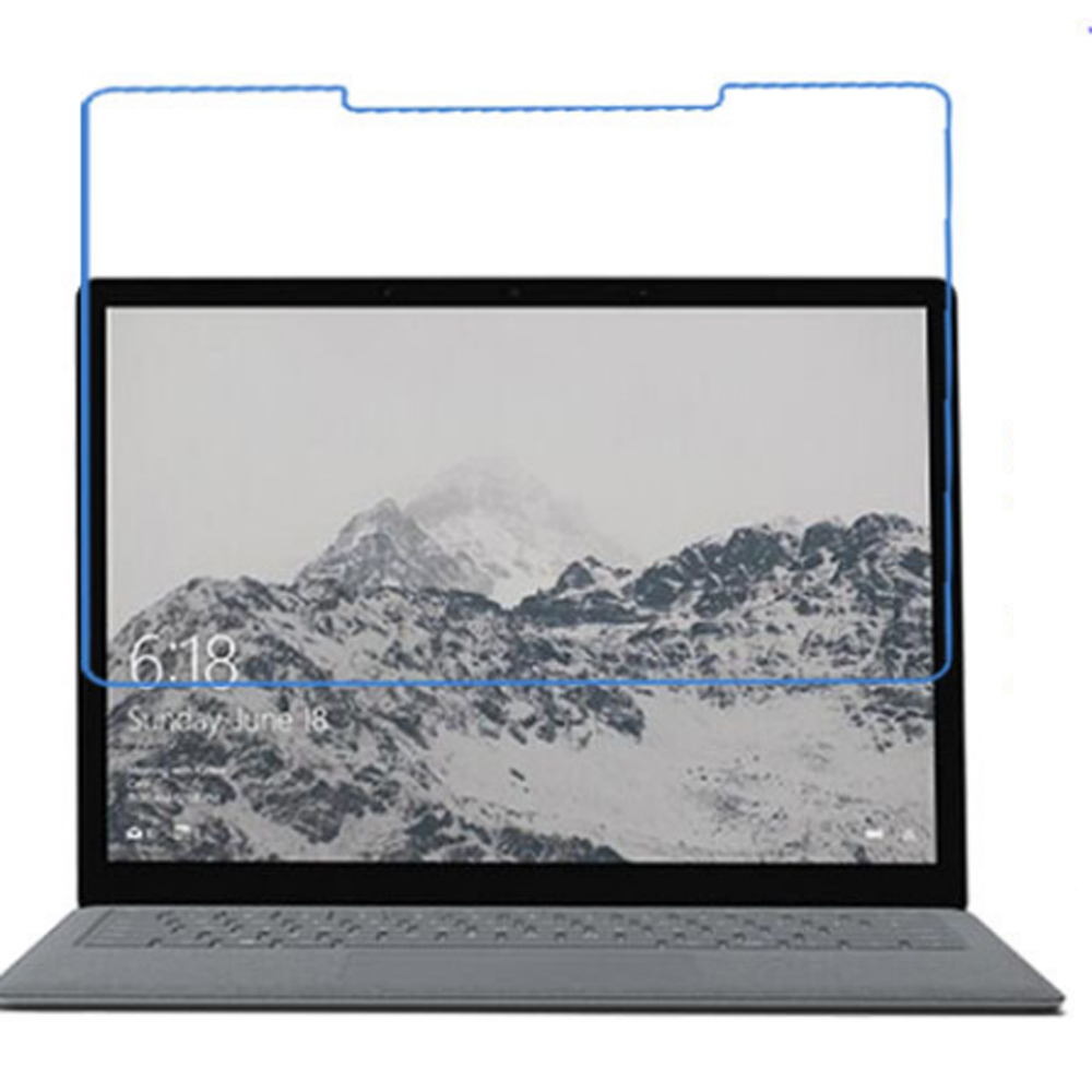 10x Clear Films + 10x Clean Clothing , LCD Screen Protector Film Guards For Microsoft Surface Laptop 13.5 Notebook 13.5 inch