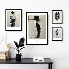 Minimalist Creative Abstract Combination People Art Canvas Print Picture Wall Poster Modern Home Living Room Decoration
