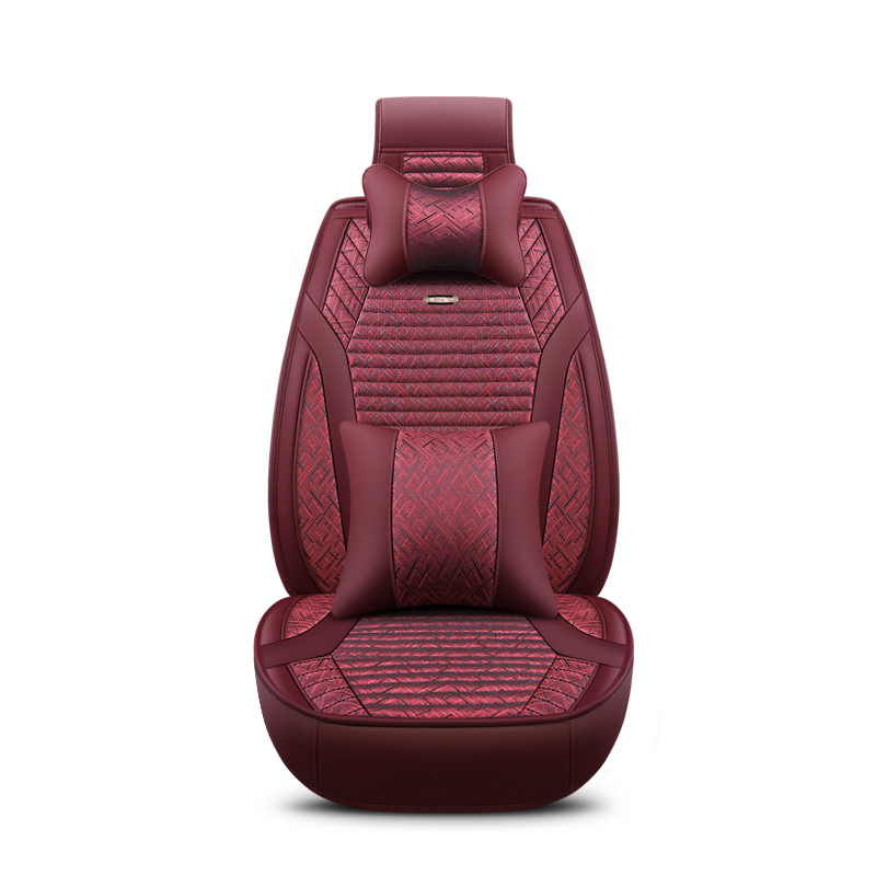 2018 New Flax Universal Car Seat covers 5 auto Cushion Fit chery all models a3 a5 amulet cowin e5 qq6 tiggo 3 5 7 fl t11 2018