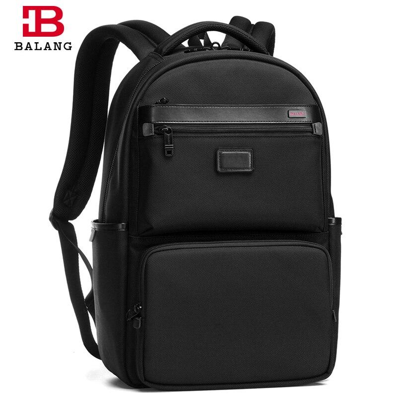 BaLang Men's Laptop Backpack Waterproof Nylon Notebook Computer Bag 16 inch  High Quality Travel Backpack Rucksack Men Black