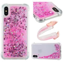 ithuriel For iPhone X se 5 5s Case for Apple 8 7 6 6s Plus Cover Glitter quicksand TPU Flashing dynamic Soft Half-wrapped Cases