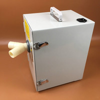 Double wheel motor strong power Dental Vacuum Dust Extractor JT 26B low noise Dust Collector for Dental Laboratory