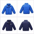 BibiCola 2016 spring autumn new baby boy girl jacket,Toddler thick warm down jackets,infant sports parkas outerwear 4 color