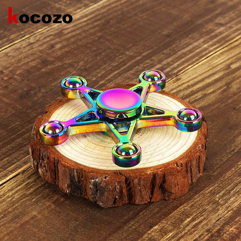 Fidget Spinner Hand Spinner High Speed Toys Anxiety Stress Adults Kid Metal finger spinners