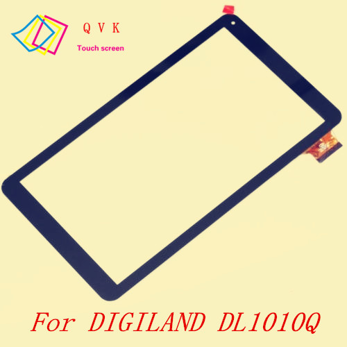 10.1inch For DIGILAND DL1010Q 8613 Tablet Pc Capacitive Touch Screen Glass Digitizer Panel Free Shipping