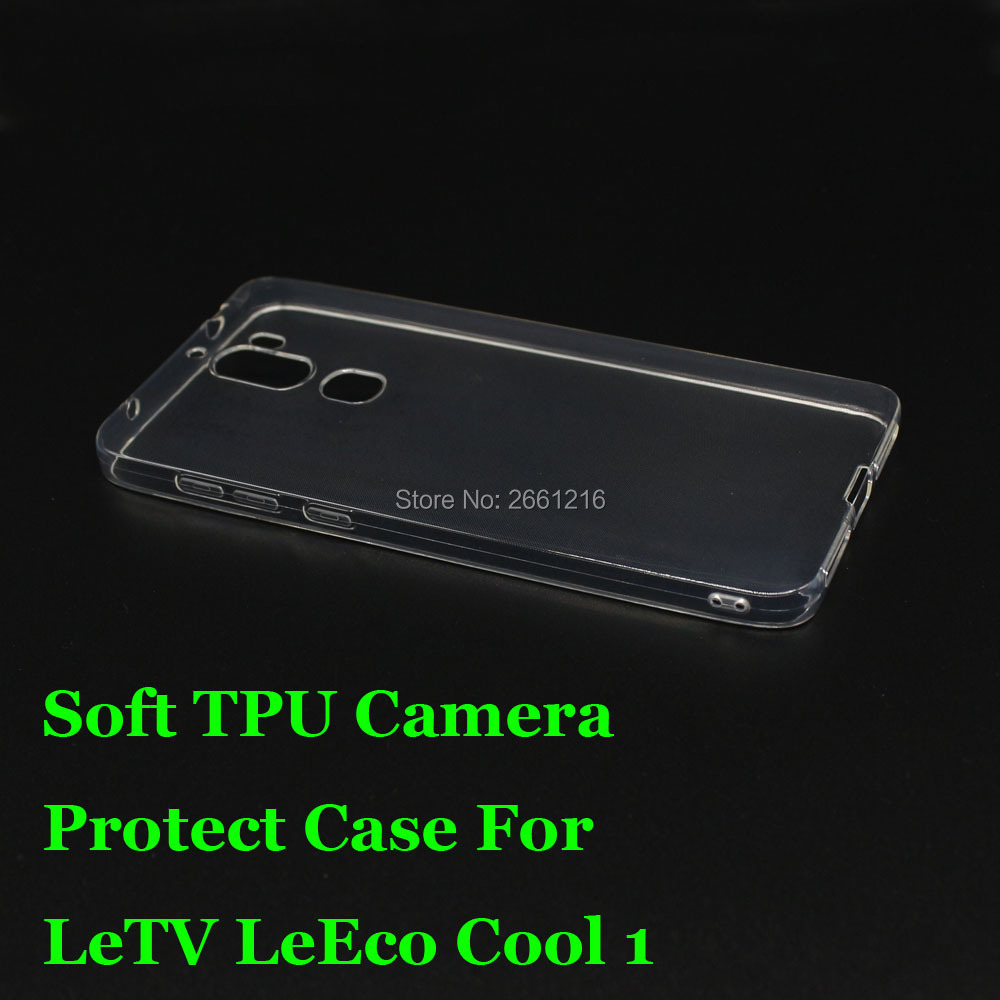"""For LeEco Cool 1 Ultra Thin Soft TPU Silicon Gel Transparent Camera Protect Case Back Housing Cover For Letv LeEco Cool 1 5.5"""""""